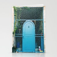 israel Stationery Cards featuring Israel Door by Sydney Loew