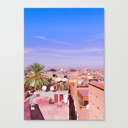 Marrakech Rooftop Canvas Print