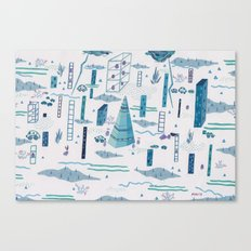 Northern Town Canvas Print