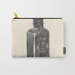 """Snake Oil """"Cure All Ailments"""" Bottle Carry-All Pouch"""
