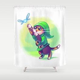 Cosplay Kittens - Kitten of Time Shower Curtain