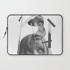 She left pieces of her life Laptop Sleeve