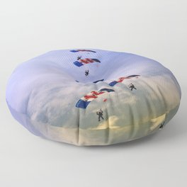 RAF Falcon Stack Formation Floor Pillow