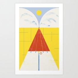 SUMMER QUEST Art Print