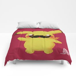 Moustachu Movember 2015 Comforters