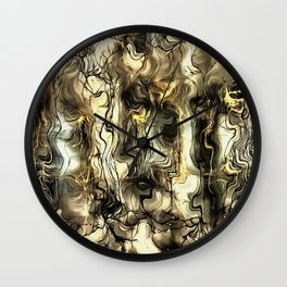 Nervous Tension Wall Clock