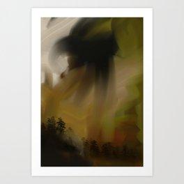 Trees In Oils Art Print
