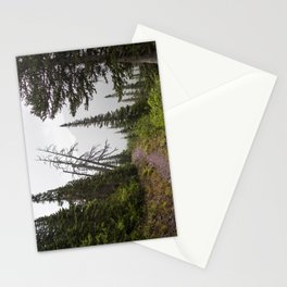 Foggy Hiking Stationery Cards