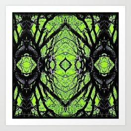 Symmetry Illusion  Art Print