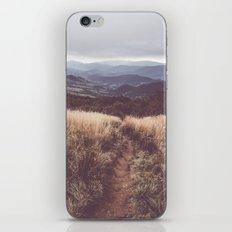 Bieszczady Mountains iPhone Skin