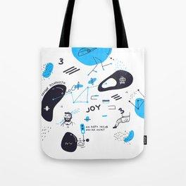 My joyful breakup Tote Bag
