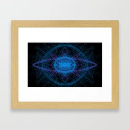 Ice Burst Framed Art Print