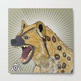 Laughing Hyena Metal Print
