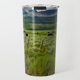 Colorado cattle ranch Travel Mug