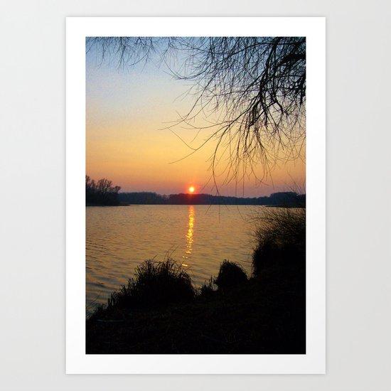 Sunset 1 Photography Art Print