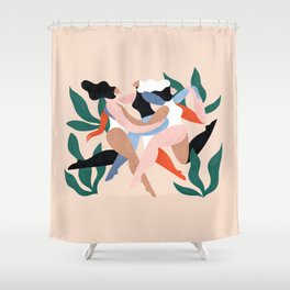 Take time to dance Shower Curtain