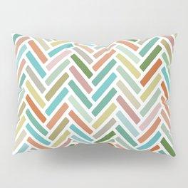 pastel herringbone Pillow Sham