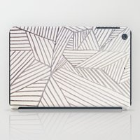 stripe iPad Cases featuring stripe by HooVeHee
