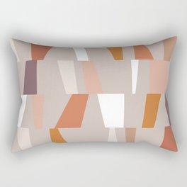 Neutral Geometric 03 Rectangular Pillow