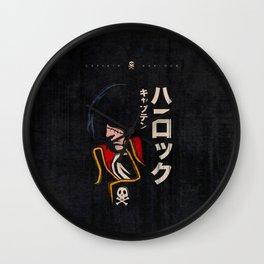 045 Harlock Jap Wall Clock