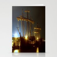 ships Stationery Cards featuring Tall Ships by Forand Photography