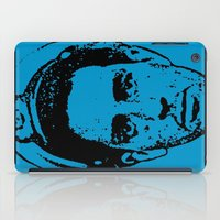 literature iPad Cases featuring Outlaws of Literature (Jack Kerouac) by Silvio Ledbetter