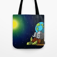 New Turtle Theory Tote Bag