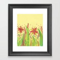 Botanical vibes 11 Framed Art Print