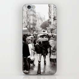 La Vie Parissiene iPhone Skin