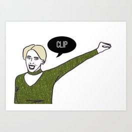 Clip Art Print