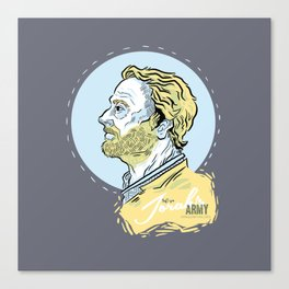Ser Jorah's Army Canvas Print