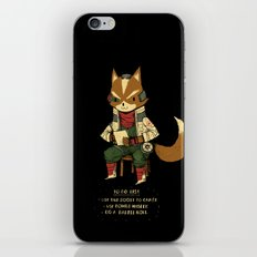 fox to-do-list iPhone & iPod Skin