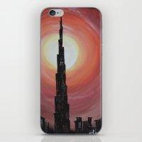 wiz khalifa iPhone & iPod Skins featuring Burj Khalifa by sladja