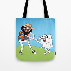 (Adventure) Time Is On My Side Tote Bag