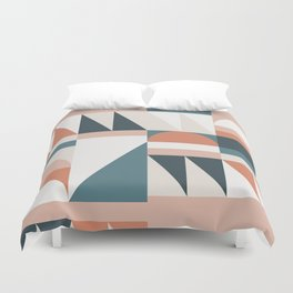 Cirque 06 Abstract Geometric Duvet Cover