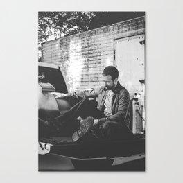Kevin Buchan - Sax Player Canvas Print