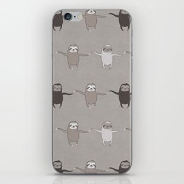 Wiggly Sloths iPhone Skin