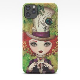 Lady Hatter iPhone Case