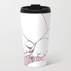 A cat called Winter Travel Mug