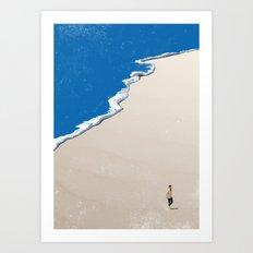 Beach 8 Art Print