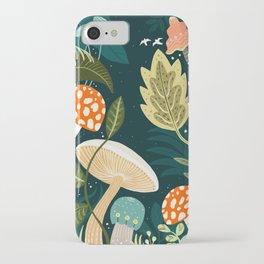 Mushroom Forest iPhone Case