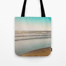 Golden Beach Days Tote Bag