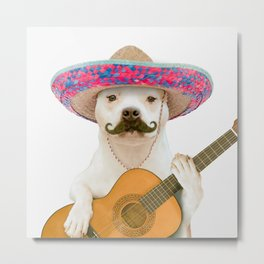 TITO PANCHITO Metal Print