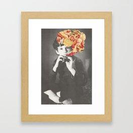 Looks Like A Kazoo Framed Art Print