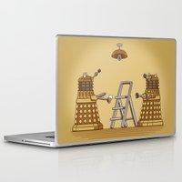 dalek Laptop & iPad Skins featuring Dalek DIY by Doodle Dojo