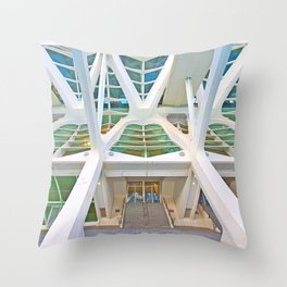 Concrete Structure Throw Pillow