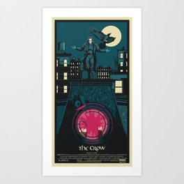 THE CROW (1994) Art Print