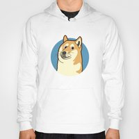 doge Hoodies featuring Doge by evannave