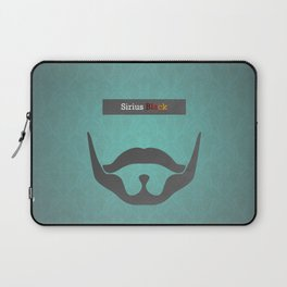 Sirius Black (Famous mustaches and beards) Laptop Sleeve