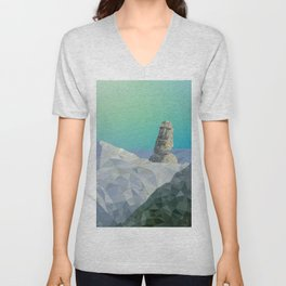 This is Not Easter Island Unisex V-Neck